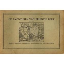 Bruintje Beer AH03 Bullie Mops op de Hagendoorn-hoeve / BB wordt gestolen 1e druk 1931