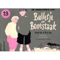 Bulletje en Bonestaak 13 De wereldreis herdruk 1958