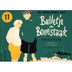 Bulletje en Bonestaak 11 De wereldreis herdruk 1958