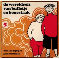 Bulletje en Bonestaak pocket 05% De wereldreis 1974