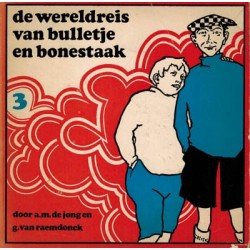 Bulletje en Bonestaak pocket 03 De wereldreis 1970