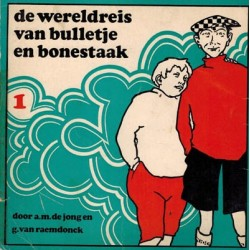 Bulletje en Bonestaak pocket 01% De wereldreis 1968