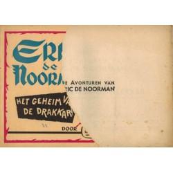 Eric de Noorman Vlaamse reeks 32 Het geheim van de drakkar % 1e druk 1954 [voorkant ontbreekt grotendeels]