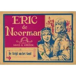 Eric de Noorman Vlaamse reeks 18 De strijd om het goud 1e druk 1950