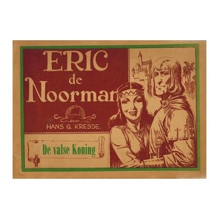 Eric de Noorman Vlaamse reeks 10 De valse koning 1e druk 1950