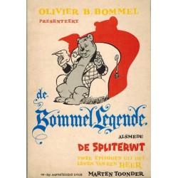 Tom Poes pocket De Bommellegende / De spliterwt 1e druk 1963 [met asterisk op achterblad]