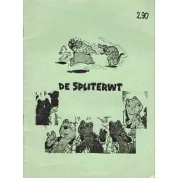 Tom Poes illegale uitgave De spliterwt 1e druk 1973