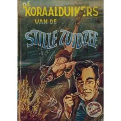 Frank de Vliegende Hollander pocket % De koraalduikers van de Stille Zuidzee 1e druk 1955