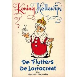 Koning Hollewijn pocket De flutters / De lorrocraat 1e druk 1962 [zonder asterisk op achterblad]