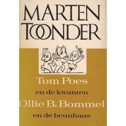 Tom Poes pocket De kwanten / De beunhaas 1e druk 1964 [met asterisk op achterblad]