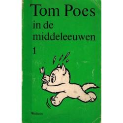 Tom Poes pocket setje onderwijsbewerking 1 t/m 4% 1e drukken 1965-1967