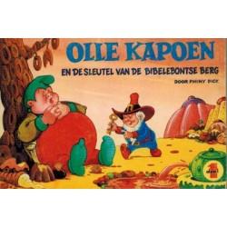 Olle Kapoen pocket 01 De sleutel van de Bibelebontse berg 1e druk 1970