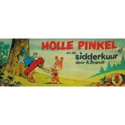 Holle Pinkel oblong 01 De sidderkuur 1e druk 1970