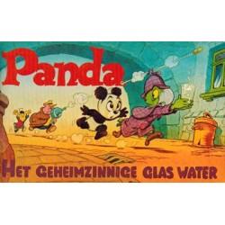 Panda pocket WN03 Het geheimzinnige glas water 1e druk 1972