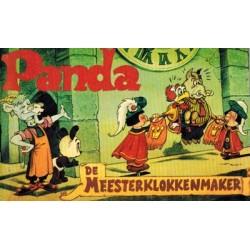 Panda pocket WN02 De meesterklokkenmaker 1e druk 1972