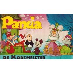 Panda pocket WN01 De modemeester 1e druk 1972