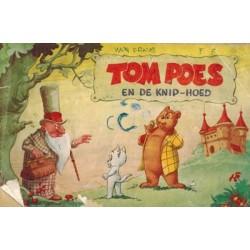 Tom Poes reclame-album De knip-hoed % 1e druk 1958