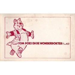 Tom Poes Illegaal De wonderdokter 1e druk 1974
