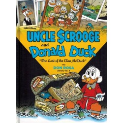 Don Rosa Library 04 HC Uncle Scrooge & Donald Duck The last of the clan McDuck