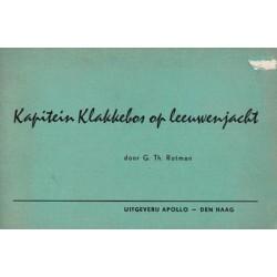 Rotman strips Kapitein Klakkebos op leeuwenjacht 1e druk 1958