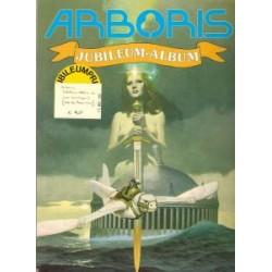 Arboris Jubileum album SC 1e druk 1991 met boeklegger