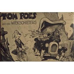 Tom Poes en de wiekschieters % illegale herdruk van het reclame-album voor Alete/Molenaar 1974