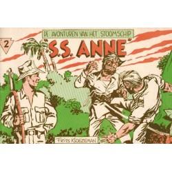 Avonturen van het stoomschip S.S. Anne 02 1e druk 1982