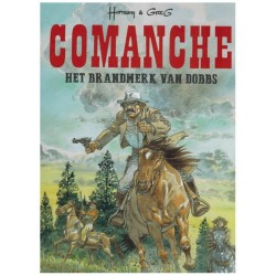 Comanche  Luxe HC Het brandmerk van Dobbs