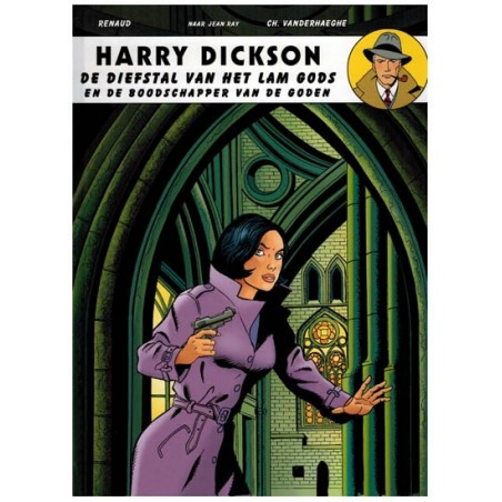 Harry Dickson  11 HC De diefstal van het lam gods en de boodschapper van de goden (naar Jean Ray)