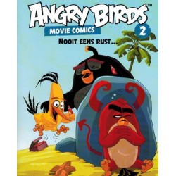 Angry birds Movie comics 02 Nooit eens rust...