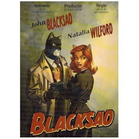 Blacksad SP HC Ergens tussen de schaduwen – achter de schermen