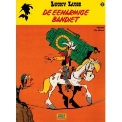 Lucky Luke    Lucky Comics 50 De eenarmige bandiet
