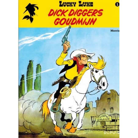 Lucky Luke    01 Dick Digger's goudmijn