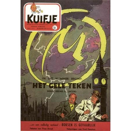 Blake & Mortimer  Luxe HC Het gele teken zoals verschenen in Kuifje-magazine
