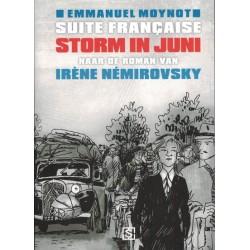 Moynot strips Suite Francaise Storm in juni (naar de roman van Irene Nemirovsky