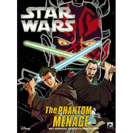 Star wars  NL manga filmstrip 01 The phantom menace