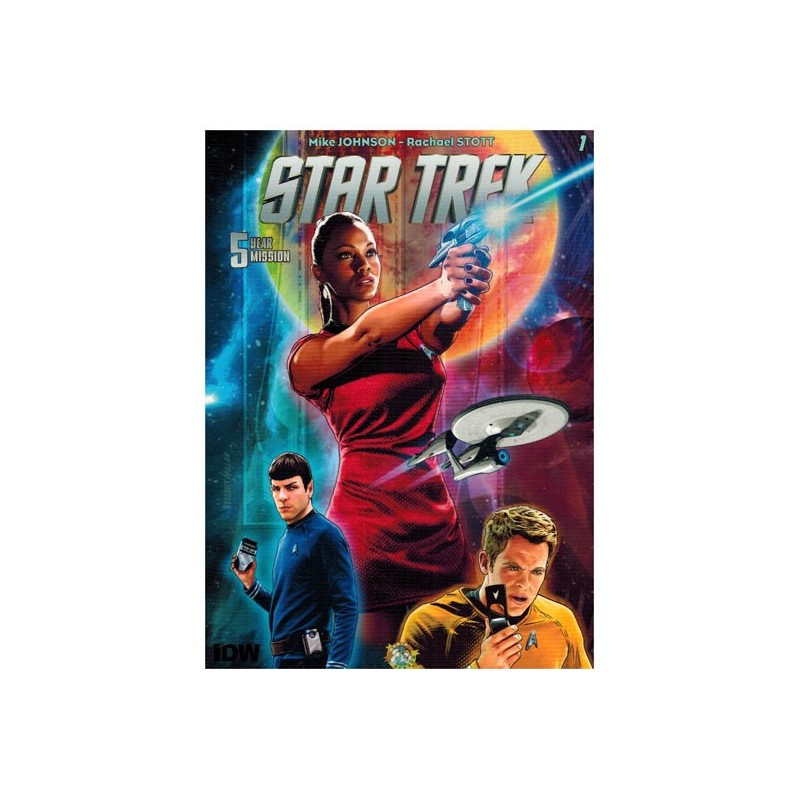 Star Trek  NL 5 Year mission 01 De Tholiaanse webben