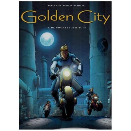 Golden City  11 HC De voortvluchtigen