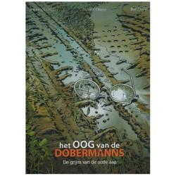 Oog van de Dobermanns HC 03 De grijs van de oude aap
