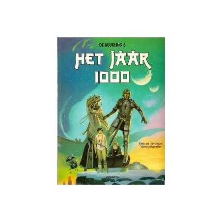 Huurling 08 Het jaar 1000 1e druk 1996 rugvouwen