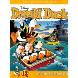 Donald Duck  Vrolijke stripverhalen 12 De grote schilderijenroof
