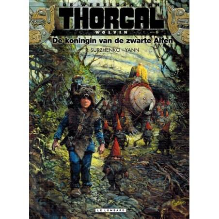 Thorgal  Werelden Wolvin HC 06 De koningin van de zwarte Alfen