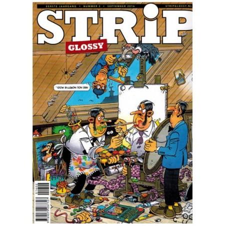 Strip glossy 02 Jan van Haasteren, Gerard Leever, Matena (Tom Poes). Llewelyn Flint e.a.