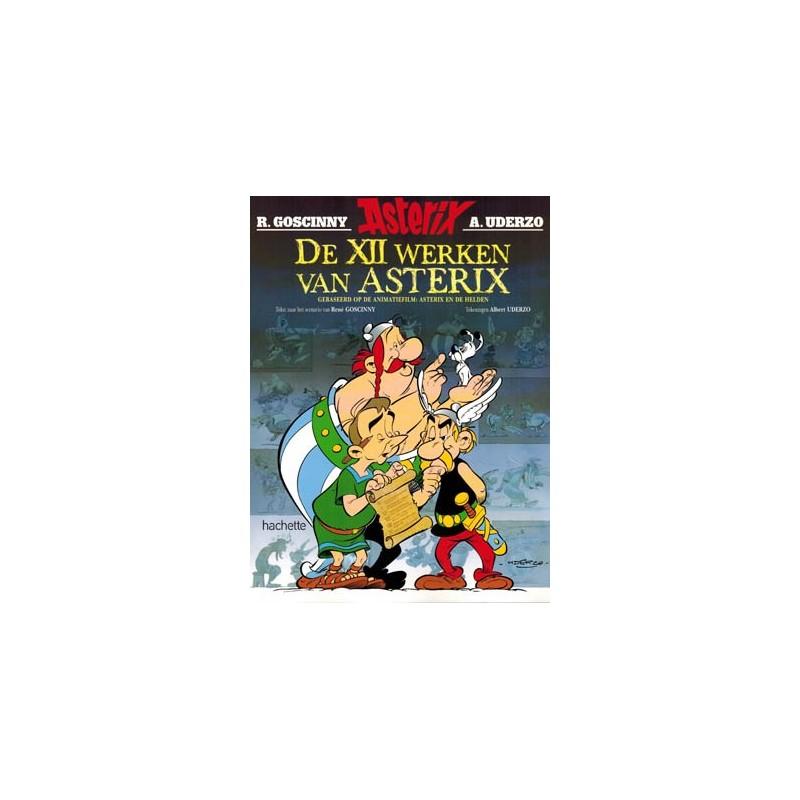Asterix   verhalen 02 De XII werken van Asterix (gebaseerd op de animatiefilm Asterix en de helden)