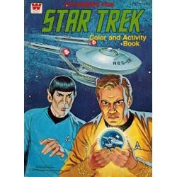 Star Trek Color and activity book % Futuristic fun 1979