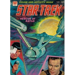 Star Trek Color and activity book % Rescue at Raylo 1978