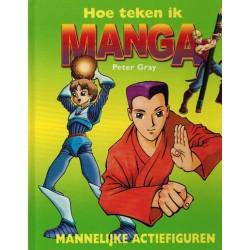 Hoe teken ik manga HC Mannelijke actiefiguren 1e druk 2005