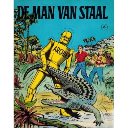 Archie de man van staal 06 De Inca-stad & De vuurspuwende kreeft 1e druk 1968