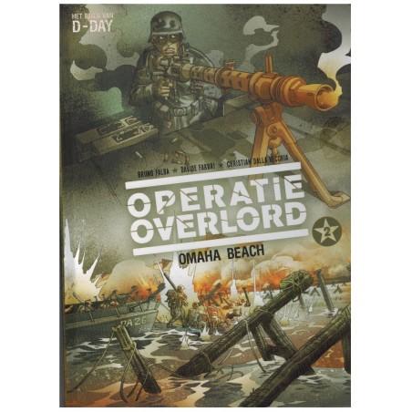 Operatie Overlord HC 02 Omaha Beach (Het begin van D-Day) 1e druk 2016