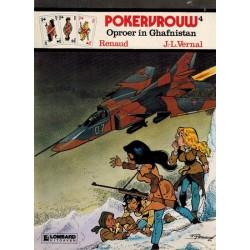 Pokervrouw 04 Oproer in Ghafnistan 1e druk 1984